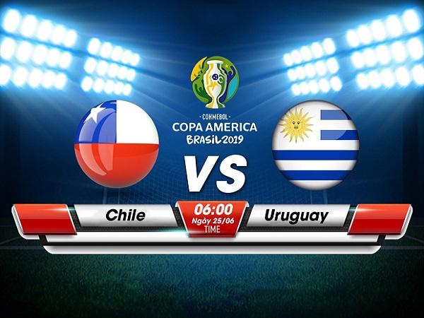 Nhận định Chile vs Uruguay, 6h00 ngày 25/06