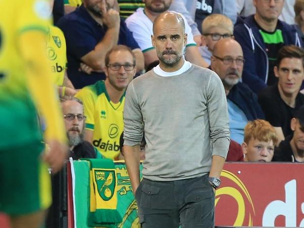 Pep Guardiola nói gì sau trận thua sốc trước Norwich?