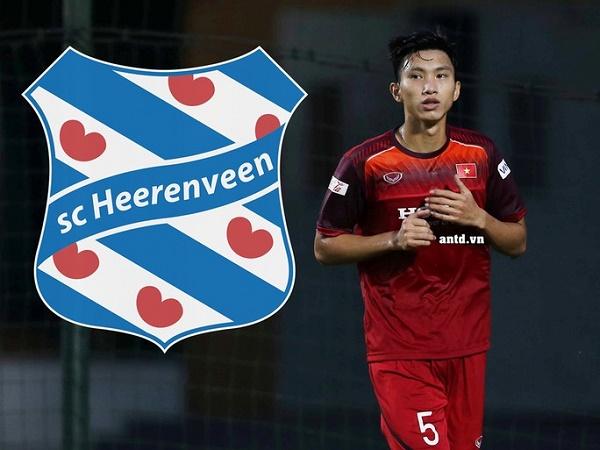 Đoàn Văn Hậu nhận lương khủng tại SC Heerenveen