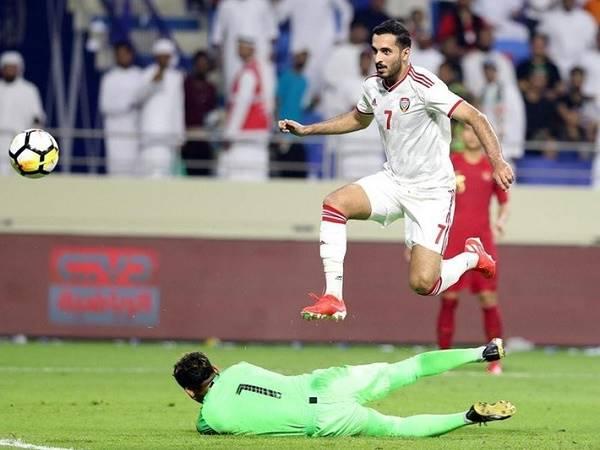 UAE mất ngôi sao số một trên hàng công ở trận gặp Việt Nam