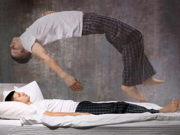 Bóng dè là một hiện tượng cơ thể đã ngủ nhưng ý thức chưa ngủ