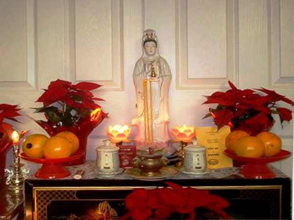 Văn khấn Phật bà quan âm tại nhà chuẩn tâm linh