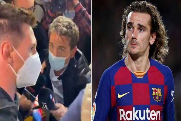 Tin bóng đá sáng 19/11: Messi đáp trả chú của Griezmann