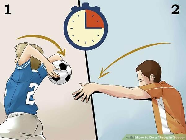 Kỹ thuật ném biên trong bóng đá mạnh và hiệu quả
