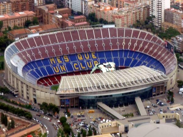 Top 10+ SVĐ bóng đá lớn nhất thế giới